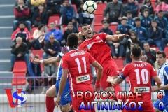 ΒΟΛΟΣ-ΑΙΓΙΝΙΑΚΟΣ 6-0